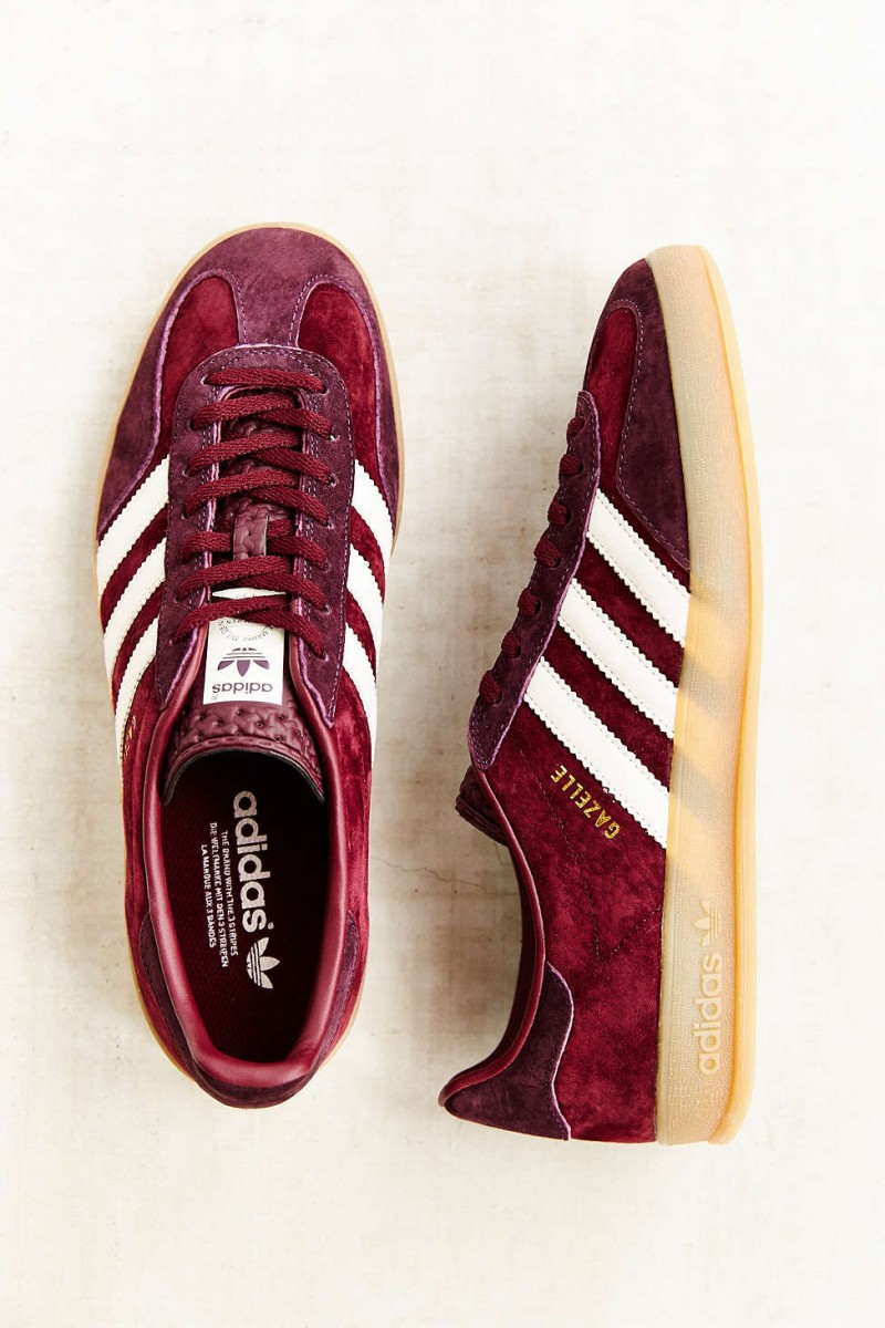bruine adidas sneakers dames