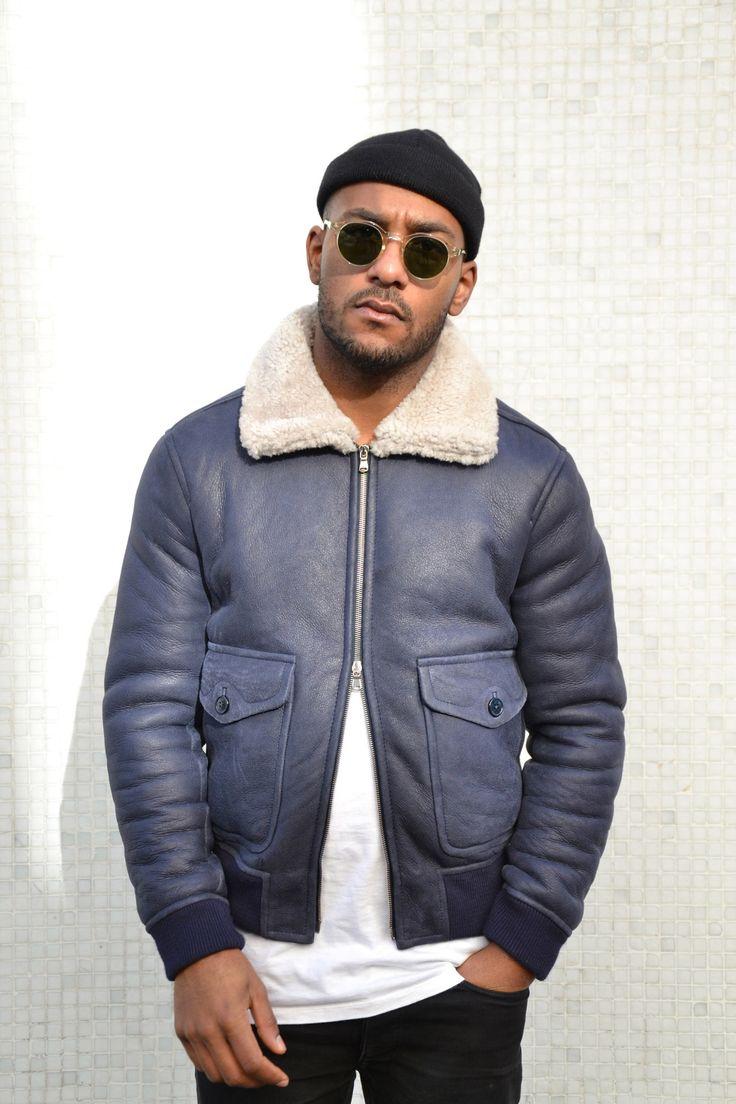 trenddossier de shearling jacket