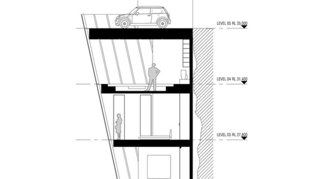 MAN MAN huis aan een klif1 22