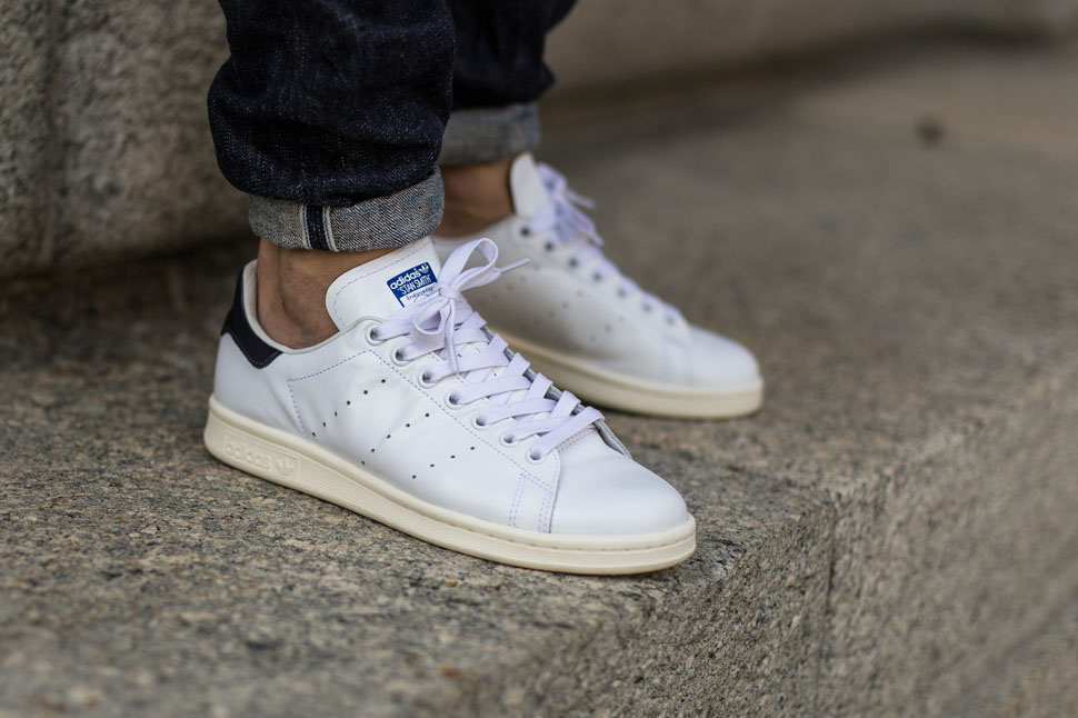 adidas stan smith wit stof