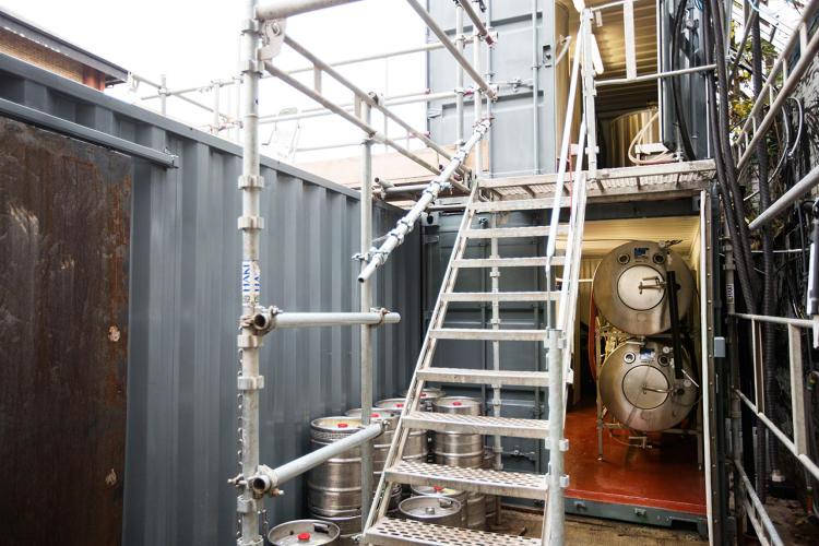 Bierbrouwerij zeecontainers bier.2