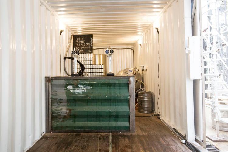 Bierbrouwerij zeecontainers bier.22
