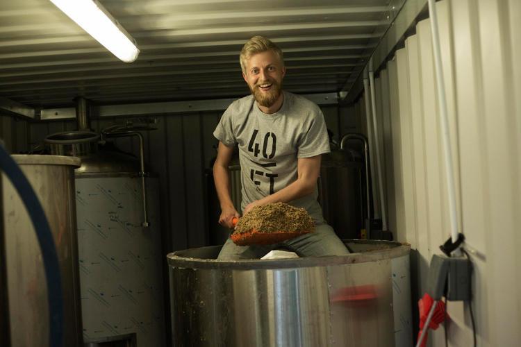 Bierbrouwerij zeecontainers bier.3