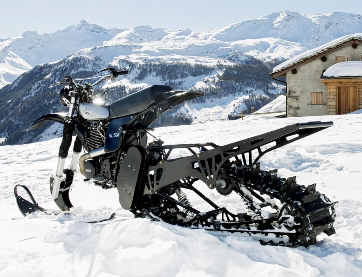 Sneeuwscooter crossmotor canada