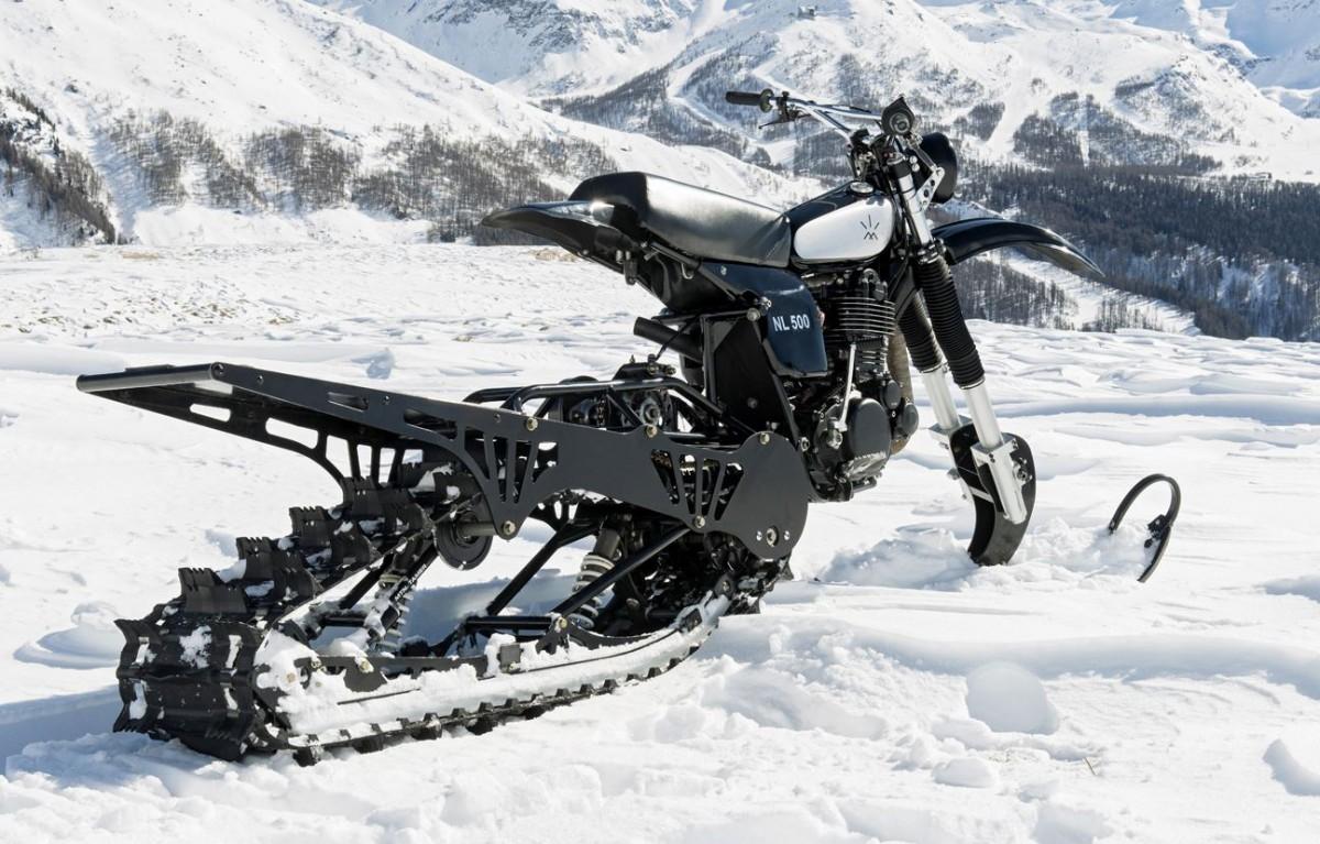 Sneeuwscooter crossmotor canada5