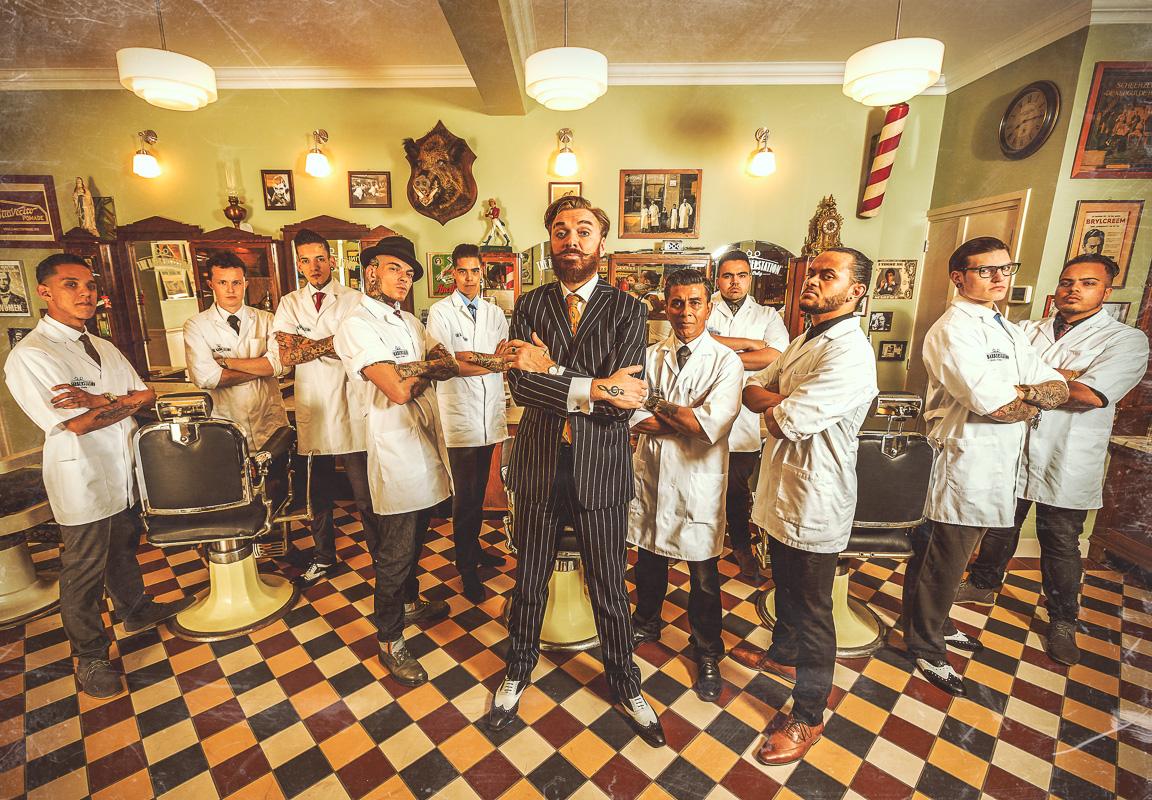 Arnhem. 04-06-2014. Barberstation. Vincent Boon Fotografie © COPYRIGHT : VINCENT BOON 2014 © WWW.VINCENTBOON.NL