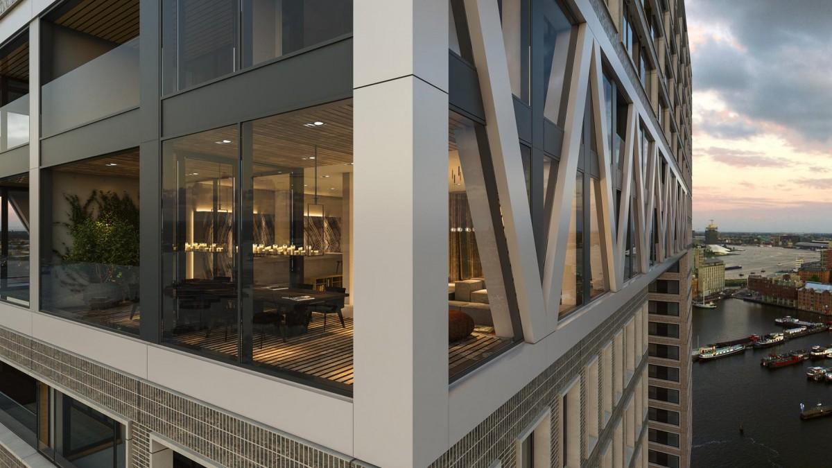Won Yip duurste appartement Amsterdam -