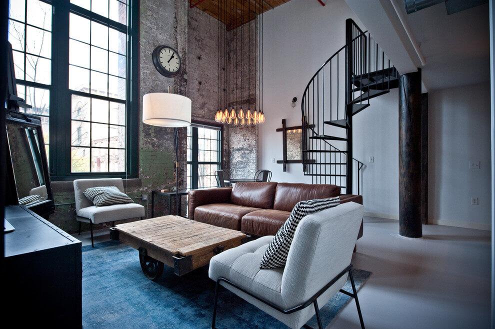 Industriele Inrichting Woonkamer : Industriele inrichting woonkamer uniek stoere woonkamer fabulous