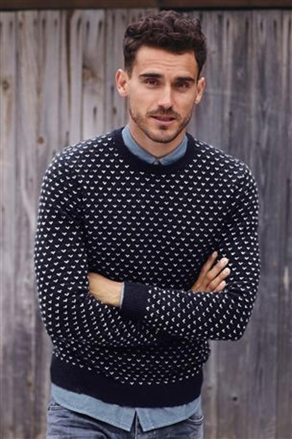 Hemd onder trui