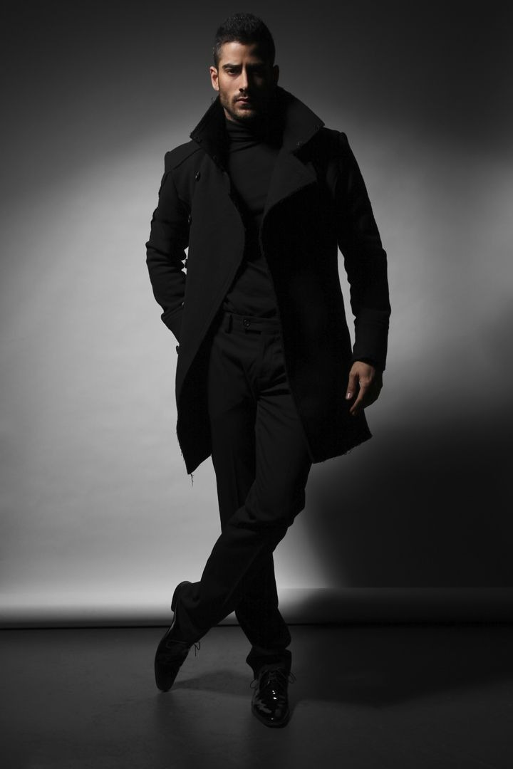 Nieuw How to wear: zwart op zwart dragen in de stijlvolste outfits   MAN MAN ZR-46