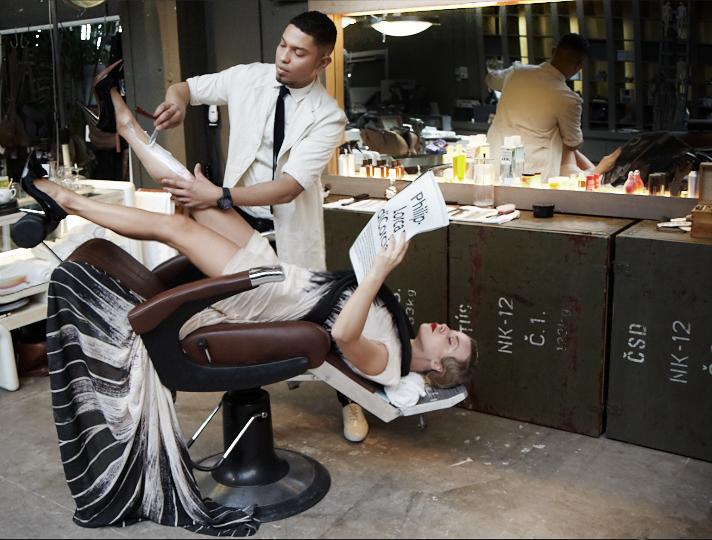 Amsterdam barbershop