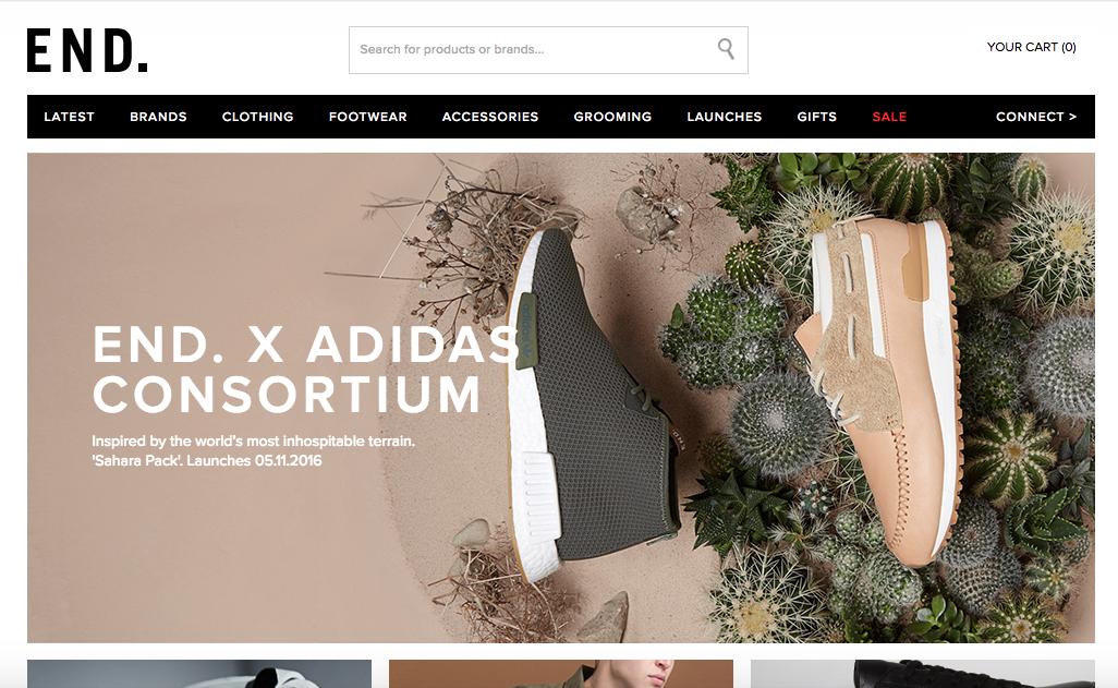 End clothing man man online webwinkel shop