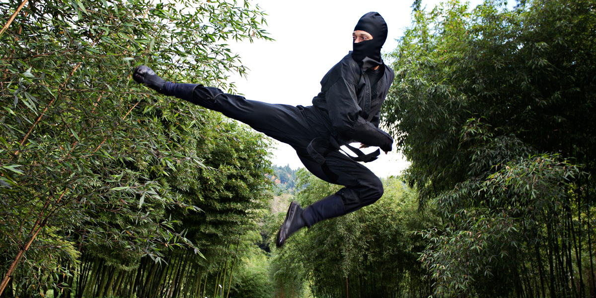 how to become a ninja in japan