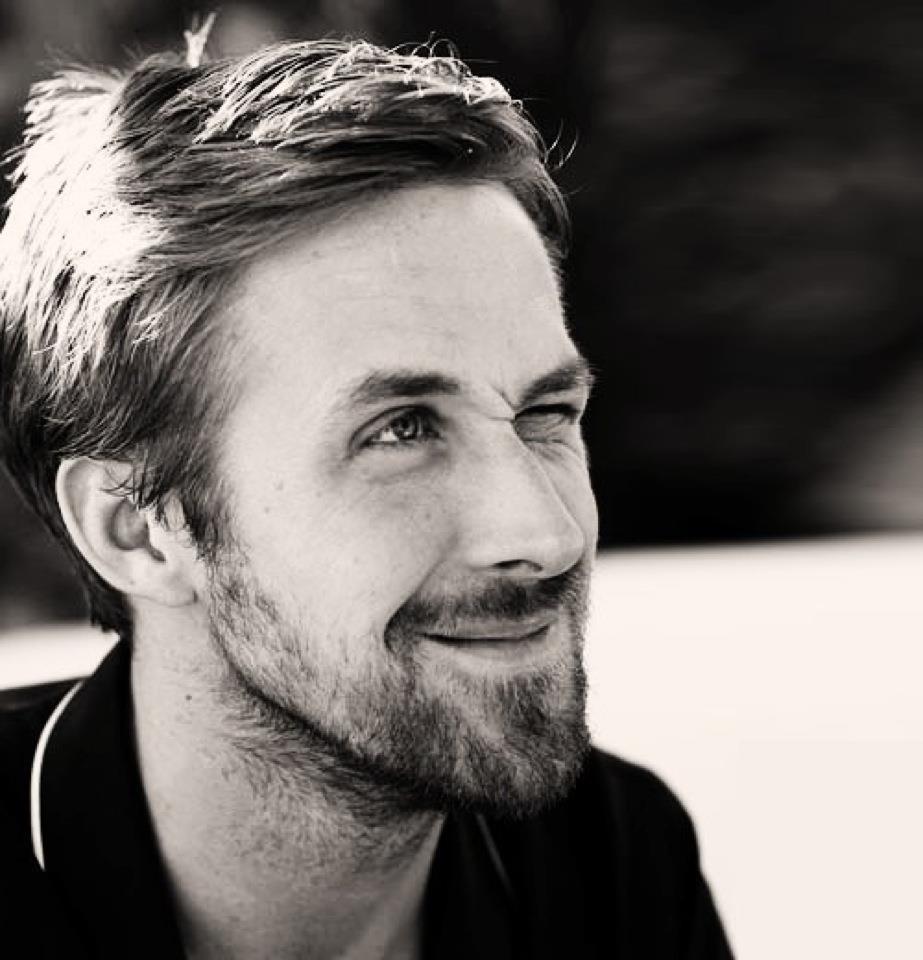 ryan gosling stoppelbaard man man