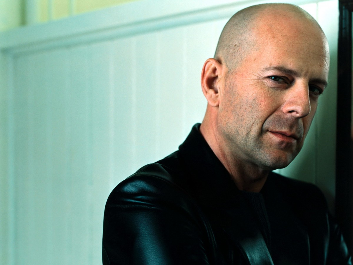 Bruce Willis kaal man man