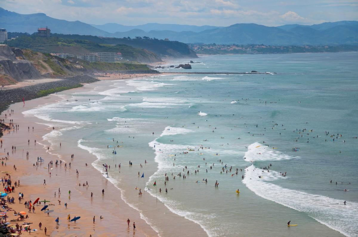 5 sicke surfspots in europa - Office de tourisme de biarritz ...