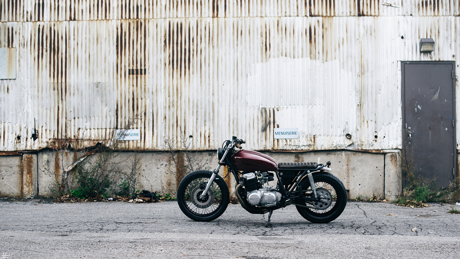 man man cafe racer