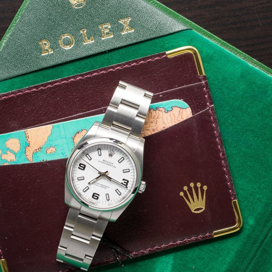 Rolex instapmodel