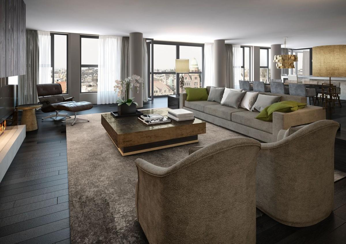 Amsterdam\'s duurste penthouse: Dam 3D