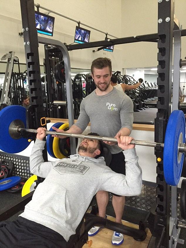 Ben Mudge Personal trainer MAN MAN2