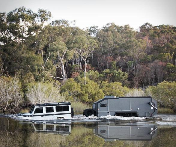 man man kamperen caravan luxe
