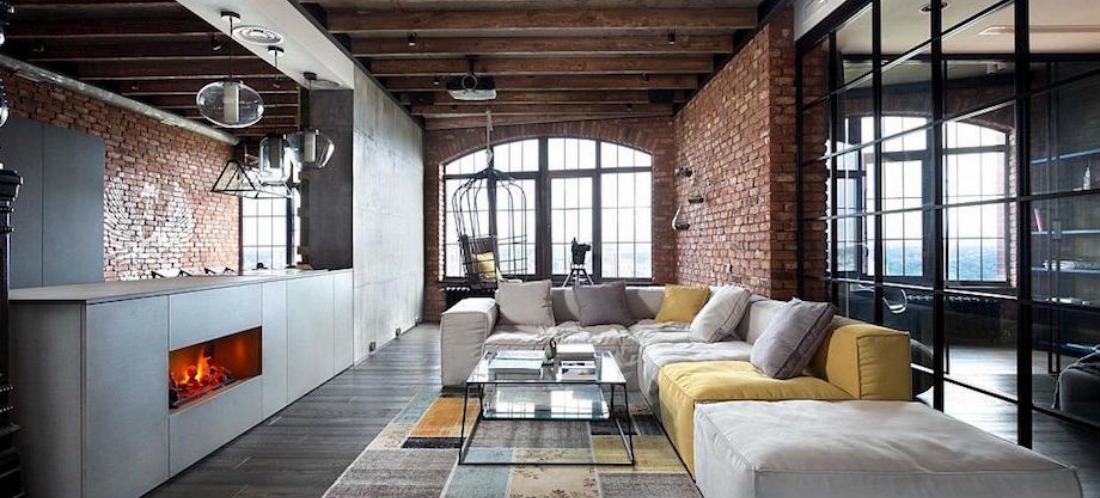 wooninspiratie 12 verschillende lofts uit verschillende landen. Black Bedroom Furniture Sets. Home Design Ideas