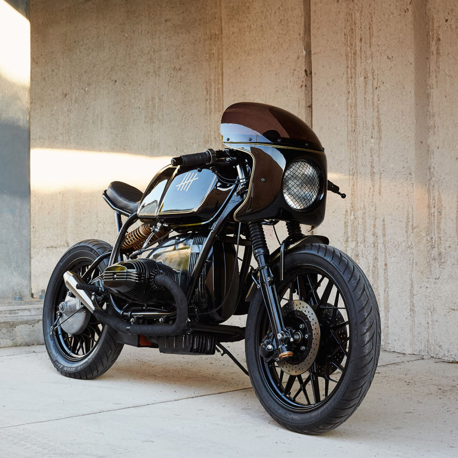 BMW r100 Cafe racer mannen blog