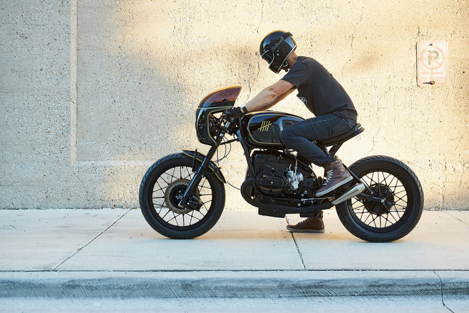 BMW r100 cafe racer man man