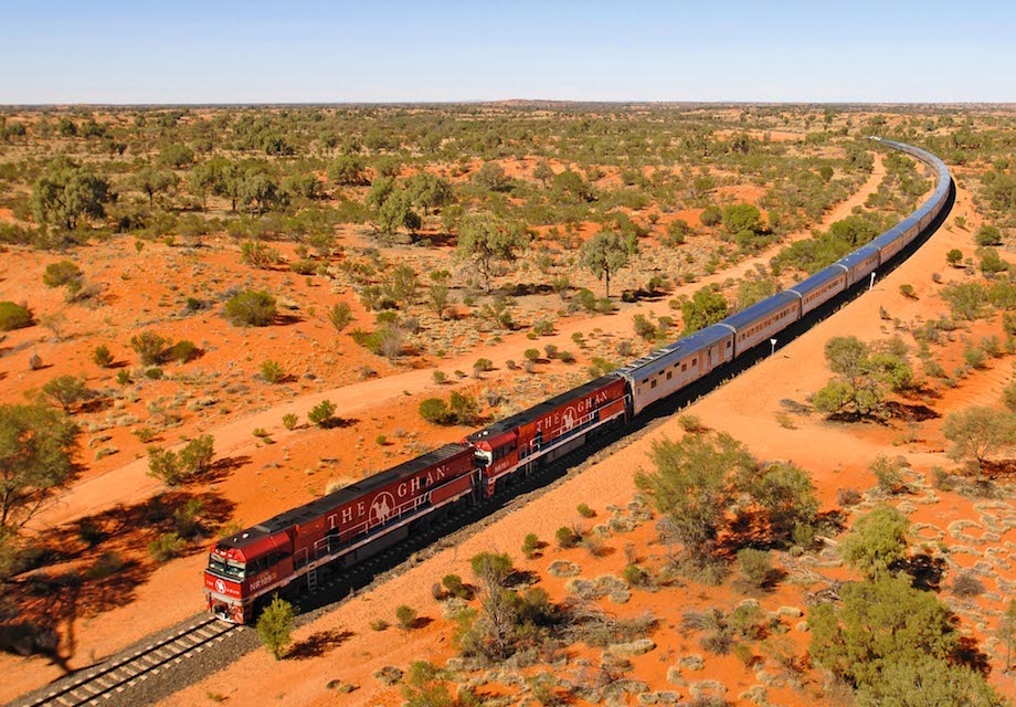 The Ghan Alice Springs to Darwin