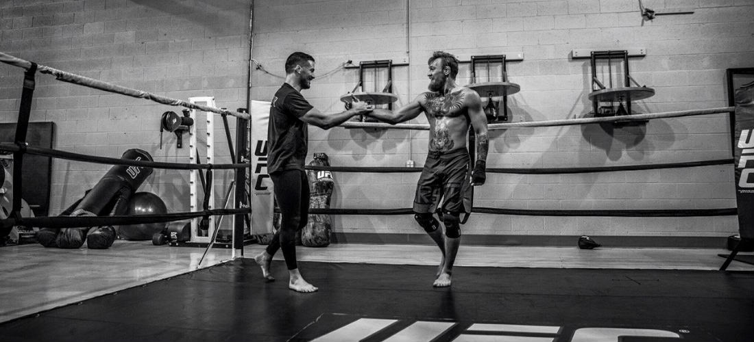 Conor Mcgregor Wallpaper Black And White: Dit Is De Workout Van UFC Held Conor McGregor