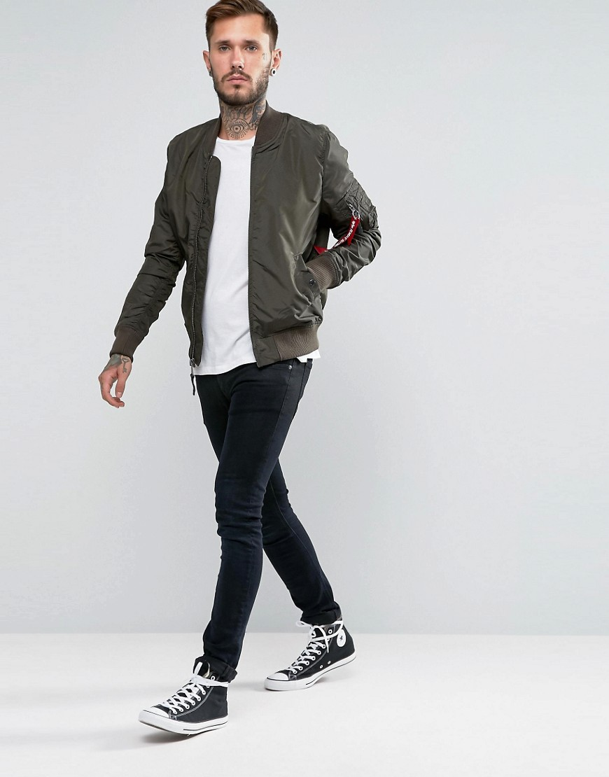 ASOS Alpha Industries bomber jas heren hersft MAN MAN