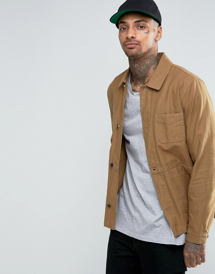 ASOS military jacket jas herfst heren MAN MAN