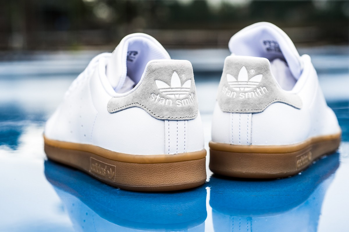 Adidas stan smith gum sole sneakers man man 4