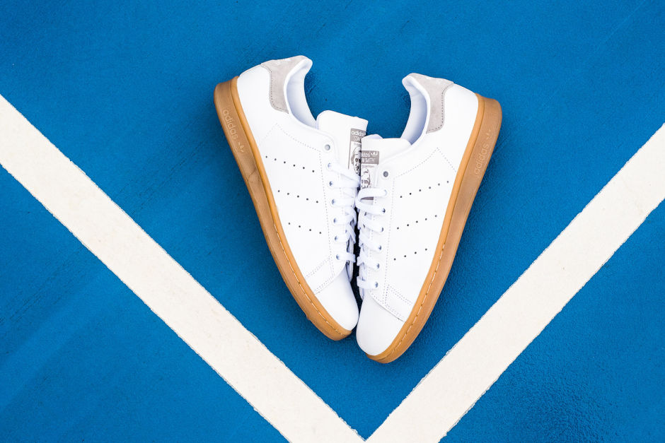 Adidas stan smith gum sole sneakers man man