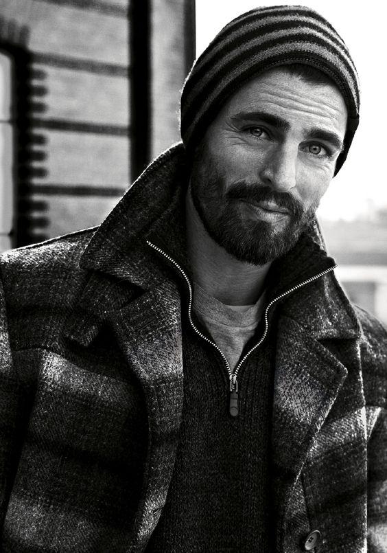 Man heren baard fashion MAN MAN