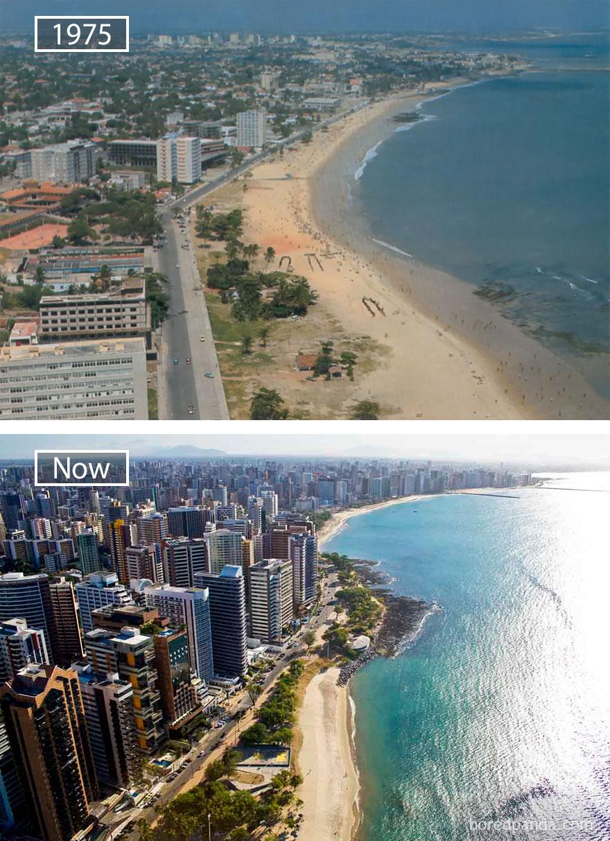 Wereldsteden groeien Brazilië MAN MAN