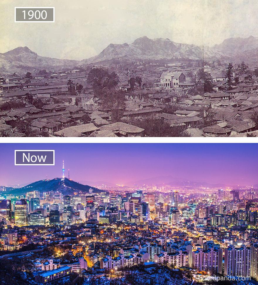Wereldsteden groeien Seoul MAN MAN