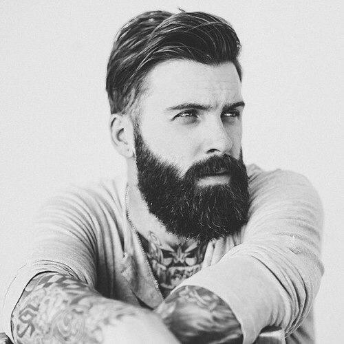baard aantrekkelijker man man