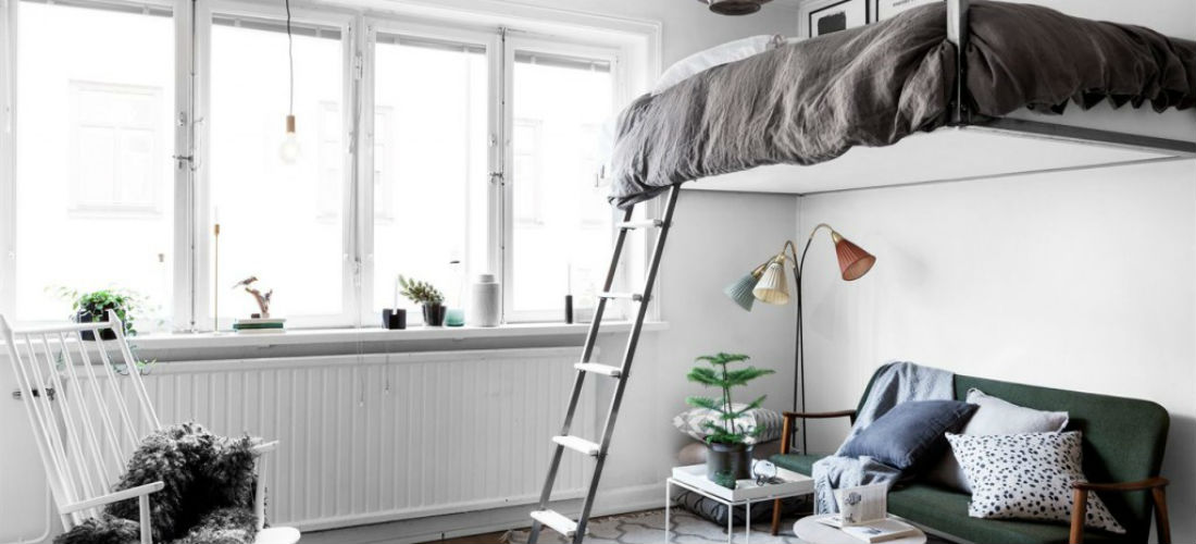 9 creatieve idee n voor een kleine slaapkamer - Idee amenagement zolder klein volume ...