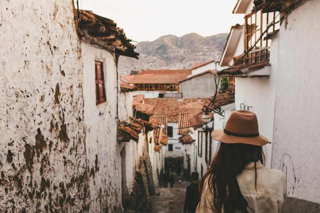 perua Cusco reizen MAN MAN
