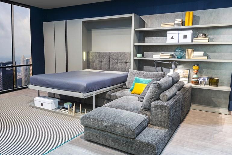 Man man wooninspiratie studie appartement wonen