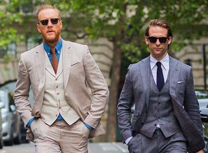 Mannen fashion week verschillende lengte Mensen inschatten profiel kenmerken uiterlijk innerlijk man man