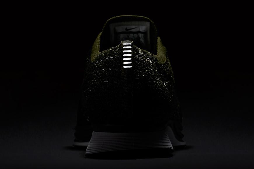 Nike flyknit racer rough green man man kleur sneaker schoenen 5