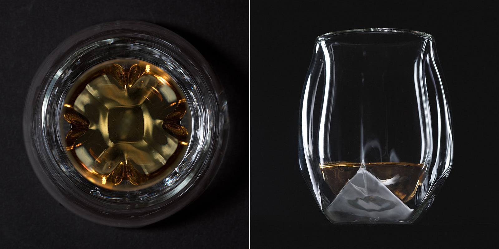 Norlan whiskey glas glass man man glazen 6