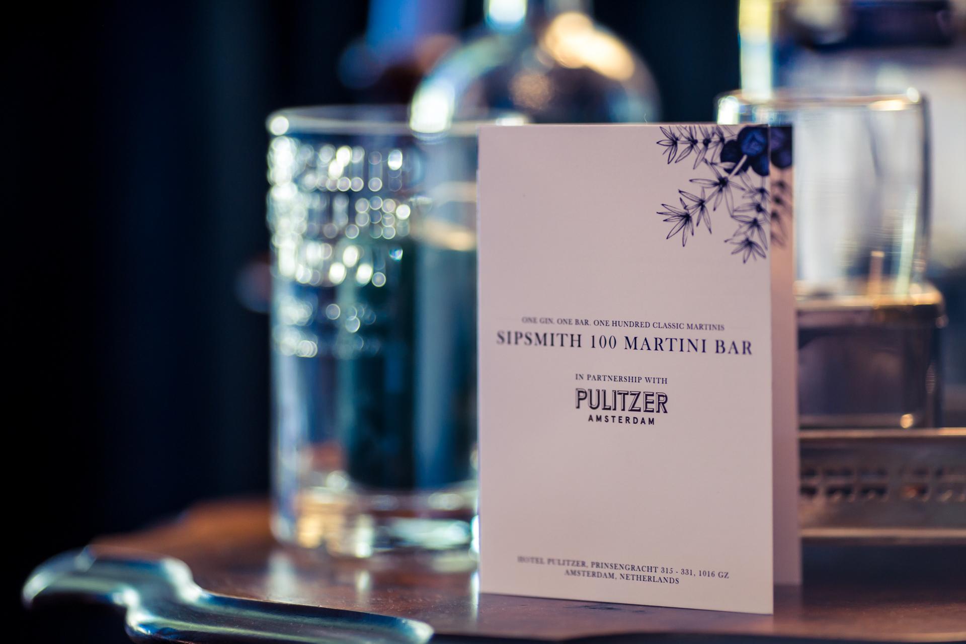 Sipsmith Pulitzer Amsterdam 3