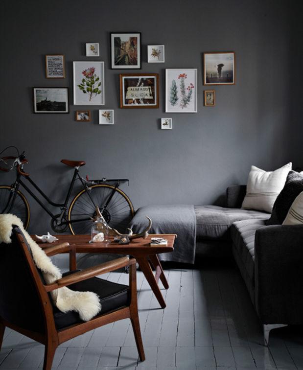 Wooninspiratie kleine ruimte appartement studio man man