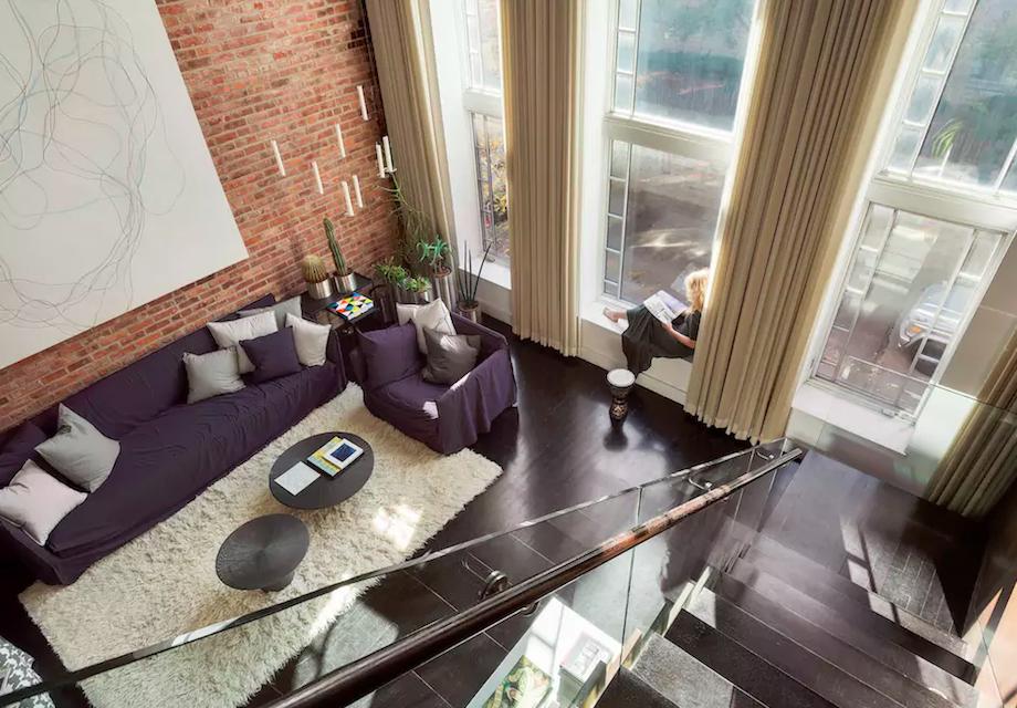 airbnb new york appartement man man