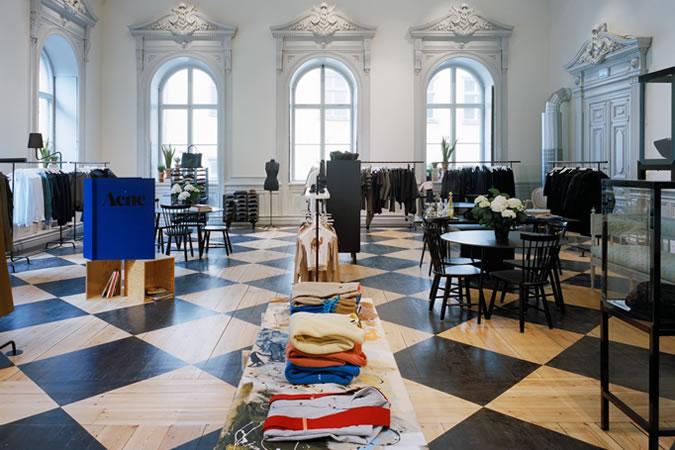 Acne studios interieus stockholm zweden man man kantoren