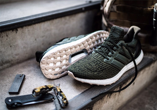 Adidas Ultra Boost 3.0 hunter green nieuwe colorway man man
