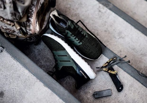 Adidas Ultra Boost 3.0 hunter green nieuwe colorway man man 1